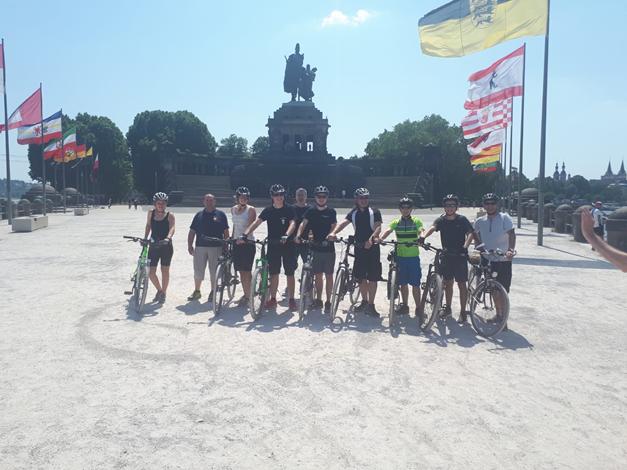 Koblenz by bike – Radtour der Feuerwehr Steinfurth