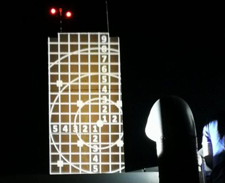 Neue Beleuchtung des Schlauchturms
