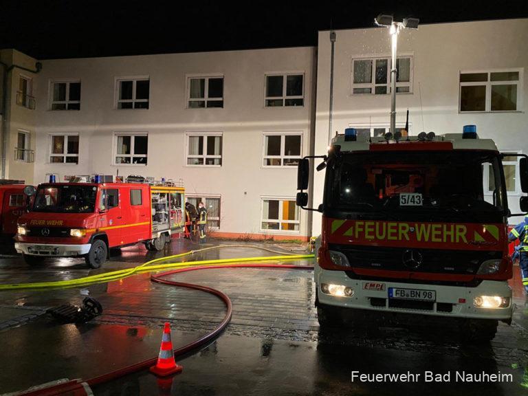 Einsatz des 13. Löschzugs in Büdingen