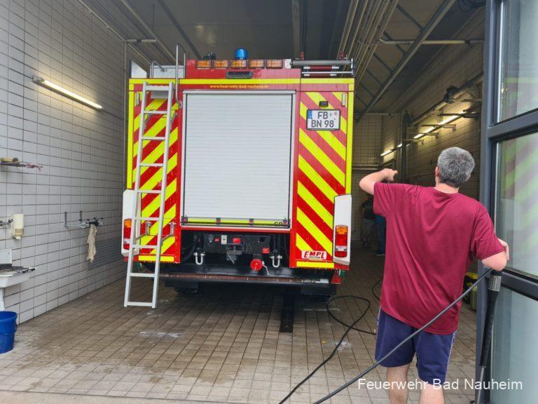 Read more about the article Einsatz im Hochwassergebiet