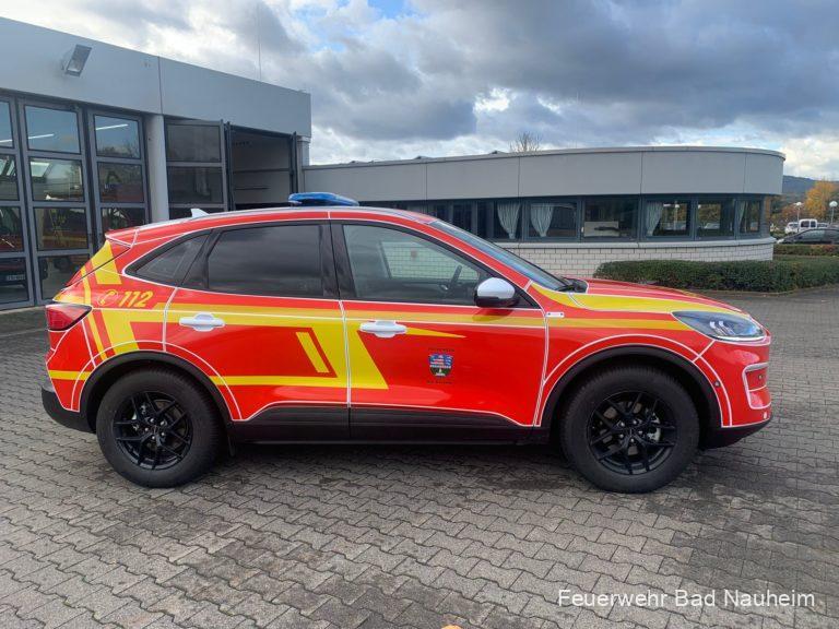 Read more about the article Neuer Kommandowagen in Dienst gestellt